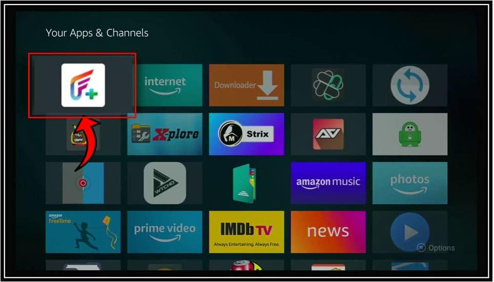Installing FilmPlus on Fire TV 5