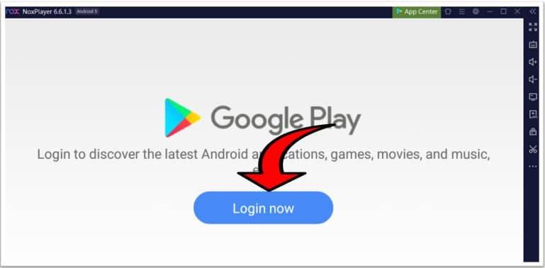 Login Using Gmail